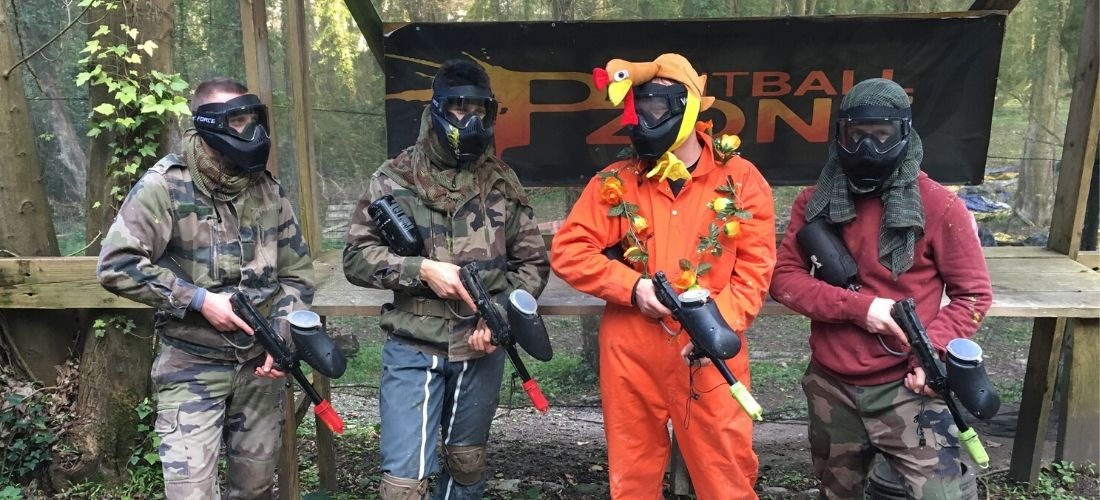Paintball Zone - Futurs Mariés